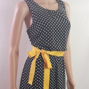 Pinup Style Dot Dress by Voir Voir size 10